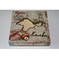 Халва Арахисово-тахинная с фундуком и какао 300 гр