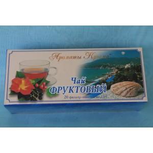 Чай в пакетиках Фруктовый 30 гр.