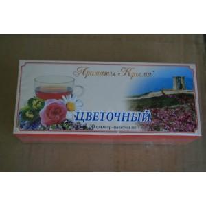Чай в пакетиках Цветочный 30 гр.