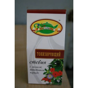 Товары снятые с продажи Чай травяной со стевией (Тонизирующий)