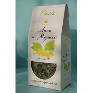 Травяной чай Липа и Мелисса 30 гр.