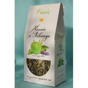 "Травяной чай Яблоко - Лаванда"" 40 гр."