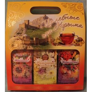 Подарочный чай Целебный наш Крым (желтый)