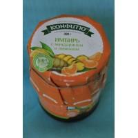Варенье имбирь с апельсином и лимоном 300 гр.