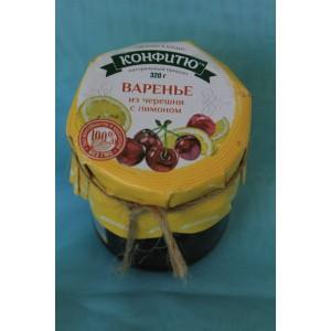 Крымское варенье Варенье черешня с лимоном 320 гр.