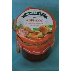 Крымское варенье Варенье абрикос с миндальными орехами 300 гр