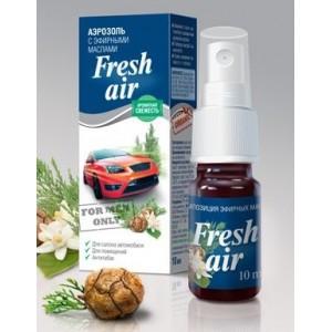 """Смеси эфирных масел Полиол """"Fresh Air"""" - мужской аромат, для ароматизации помещений, салона автомобиля"""