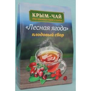 Травяной чай Лесная ягода плодовый сбор 130 гр.