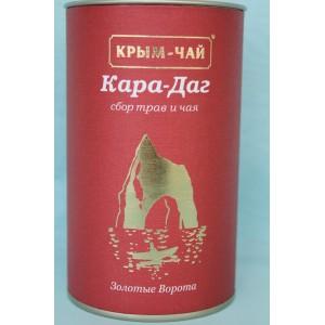 Подарочный чай Кара-Даг 80 гр.тубус