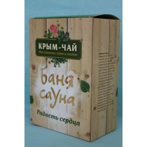 """Травяной чай Баня сауна """"Радость сердца"""" 90 гр."""